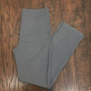 Chico's Black White Houndstooth Jeggings 0 (S-4)